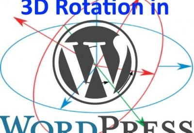 Wordpress_3D_Rotation
